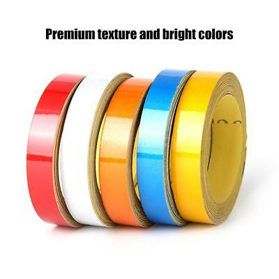 Car Bike Reflective Tape Safety Warning Conspicuity Roll Sticker Waterproof V5Y4