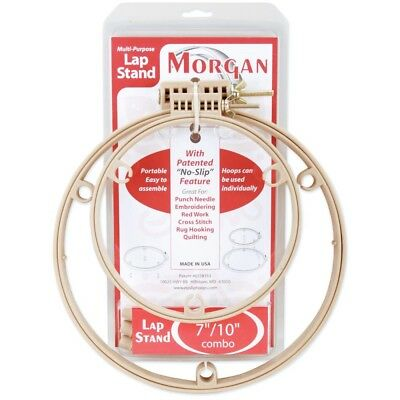 Morgan Products 7/ 10-inch Lap Stand Combo Hoops - 7 10