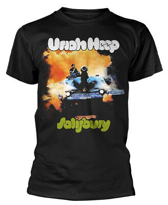 Uriah Heep 'Salisbury' T-Shirt - NEW & OFFICIAL!