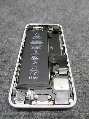 Apple A1532 iPhone 5c Back Housing Cover Assembly Battery White Genuine OEM