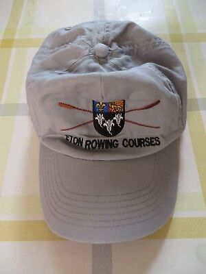 Eton Rowing Courses Grey Cap