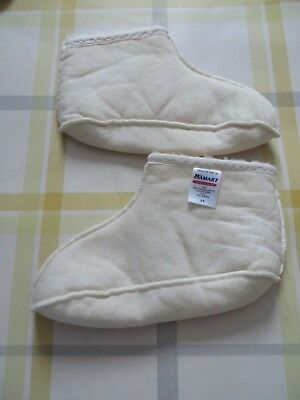 Ladies Damart Boot Liners Size 3-5