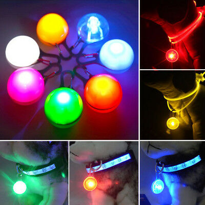 Optimistic LED Clip-on Pet Light Collar Pendant Flash Lighting Dog Cat Safety