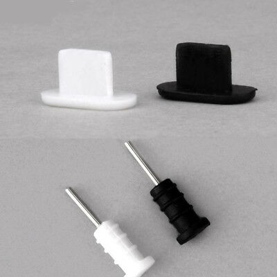 10set Silicone Anti Dust Cap Earphone Plug Stopper For iPhone Tricolor optional