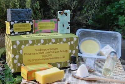 Make your own natural soap making kit from scratch, cold process soap making kit