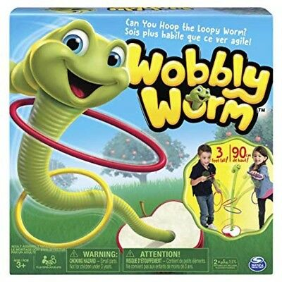 SPINMASTER Wobbly Worm Game