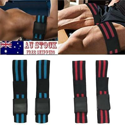 Pair Training Bands By BFR Band Fitness Arm Strap Blood Flow Restriction Band AU