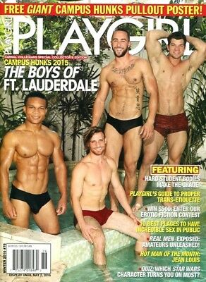 Playgirl Magazine Winter 2016 - Gay Interest