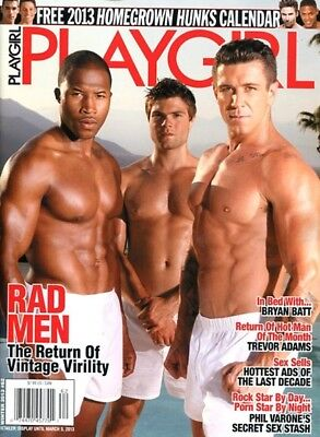 Playgirl Magazine Winter 2013 - Gay Interest
