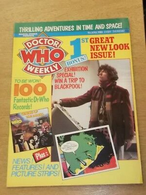 Doctor Who #26 1980 Apr 9 British Weekly Monthly Magazine Dr Who Dalek Cybermen