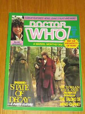 Doctor Who #48 1981 Jan British Weekly Monthly Magazine Dr Who Dalek Cybermen