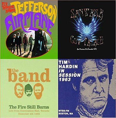 Santana;Jefferson Airplane;The Band;Tim Hardin - Veterans of Woodstock (9CD Set)
