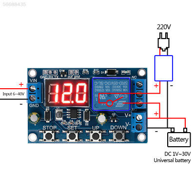 4FA7 Measurement Relay Voltage Monitoring Module Multifunctional 0-100V PCB