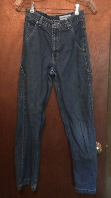 Vintage Canyon River Blues Womens Jeans Size 3 Carpenter High Waist Mom