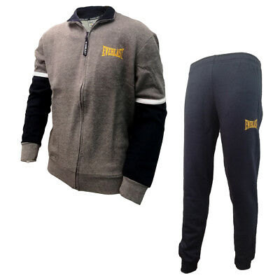 pigiama tuta uomo in felpa full zip EVERLAST art. EV31004