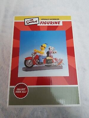 The Simpsons Homer Rebel Without A Donut Figure In Box With Authenticity
