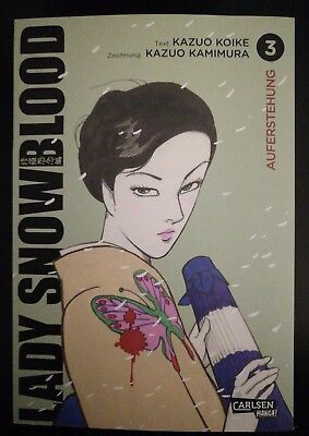 Manga - Lady Snowblood - Neue Edition - Band 3 - Top Zustand