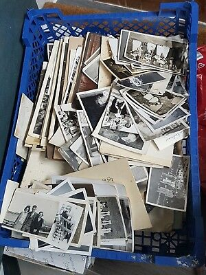 huge job lot of vintage photographs 1940's 50's etc and some earlier
