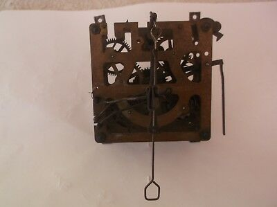 Regula German Mechanism From An Old Cuckoo Clock   Ref Cuk 6 Working Order