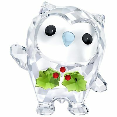 NEW Swarovski Hoot Happy Holidays New for 2018 Annual Edition 5393324