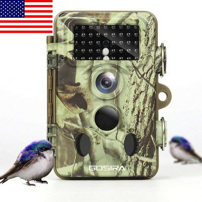 Trail Camera 120°Sensor Zone Latest 42pcs 940nm Infrared LED Night Vision US NEW
