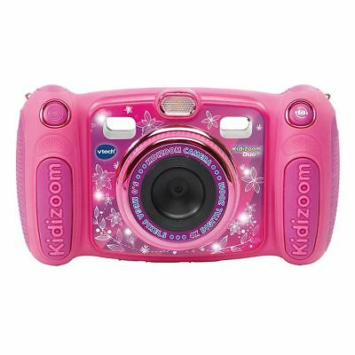 Vtech Kidizoom Duo 5.0 Digital Camera Pink Girls Photos Effects Voice Recorder