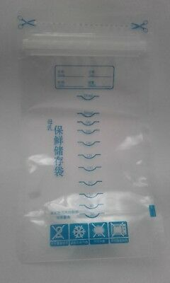 230pcs Breast Milk Storage Bags unused preserilised ready to use
