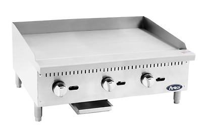 "NEW 36"" Gas Griddle Atosa ATMG-36 #2550 Commercial Plancha Flat Top Restaurant"