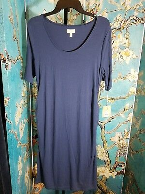 NWT Aglow Maternity Ruched Sheath Dress, Size Large, Retail $40.00