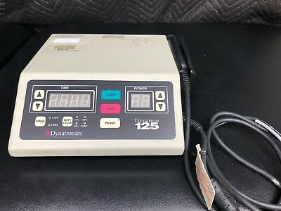 Dynatronics Dynatron 125 Ultrasound Unit Physical Therapy &  Chiropractor