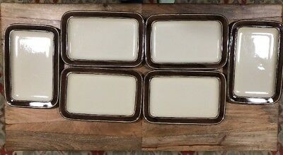 Lot/Set Of 6 Celtic Ironstone Kerry Platters. Made In Ireland. Extremely Rare!!