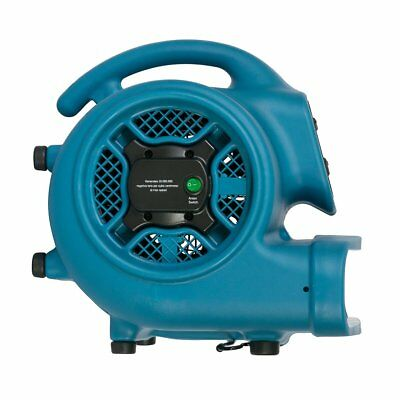 XPOWER P-450NT 1/3 HP Freshen Aire Scented Air Mover with Ionizer & Timer BX DMG