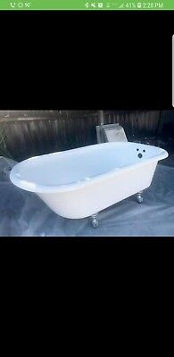Antique clawfoot tub feet