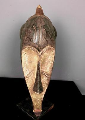 Outstanding Tribal Large Fang Ngil Society Mask      --- Nigeria