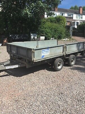 Ifor Williams Flatbed Trailer 10x5 6'' with ramps