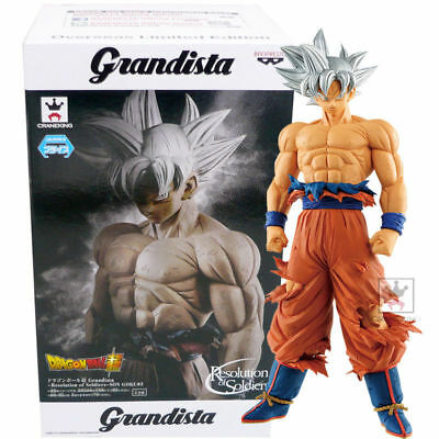 "Banpresto Dragon Ball Super Grandista Ultra Instinct Son Goku 11"" Figure USA"