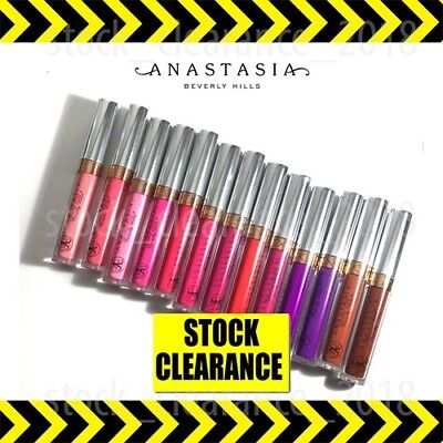 Anastasia 🔥matte Lipstick ✅ Liquid Lip Gloss Contour ✅ Many Shades ✅ New ✅ Uk