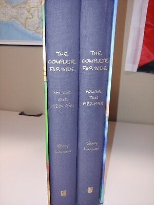 The Complete Far Side by Gary Larson, 2 volumes (2003, Hardcover) First Edition