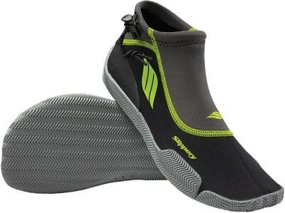 Slippery Amp Wetsuit Shoes Black/Lime XXS