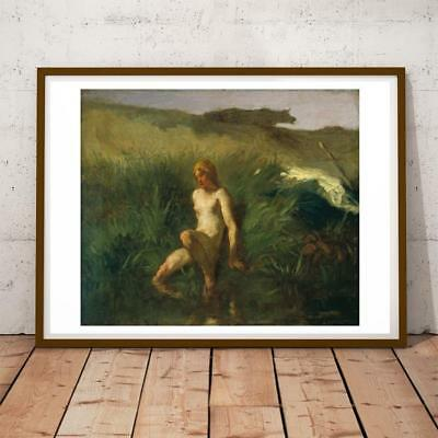 Jean Francois Millet French Realist Barbizon 5 28X22 Inches Art Print P/P