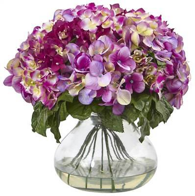 Hydrangea with Large Vase in Purple [ID 3499372]