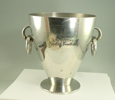 Nicolas Feuillatte Pennor's Solid Pewter Champagne Ice Bucket