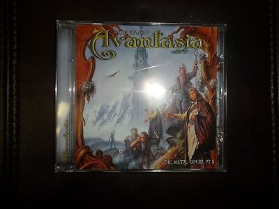 The Metal Opera, Vol. 2 by Avantasia (CD, Feb-2003, Afm) Made in Russia