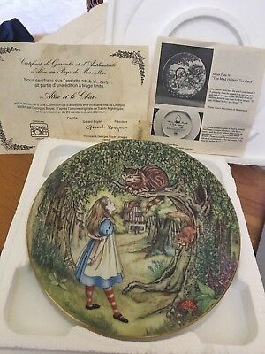 Alice In Wonderland ALICE AND THE CHESHIRE CAT Georges Boyer PLATE # AN803