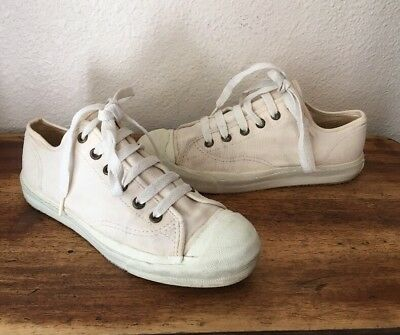 Original Vans Skate Shoes Natural White Sneakers MADE IN USA