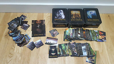 Lord of the Rings Tins & Topps Cards