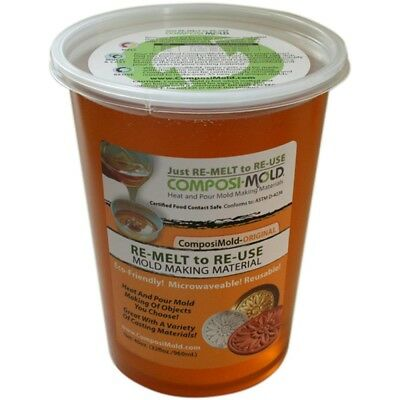 Composimold Lt40 Reusable Molding Material, Craft Molds, 40-ounce - Scm