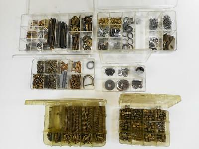 Vtg Locksmith Part Lot - Mortise Rim Lock Springs Cams Set Scews Pins & MORE .99