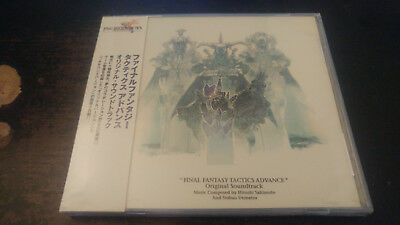 FINAL FANTASY TACTICS Advance  SOUNDTRACK CD Alion Records