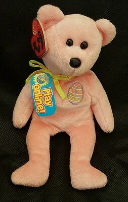 TY Beanie Babies 2.0 Eggs 2008 the Bear Unused Code New with Tags 2008 Retired